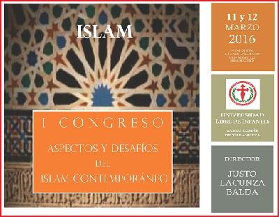 I Congreso - Aspectos y Desafíos del Islam Contemporaneo, marzo 2016