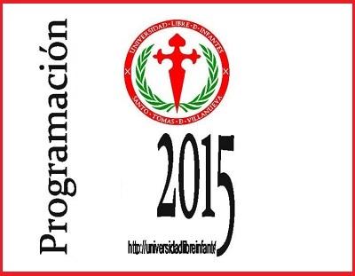 Programación 2015 - Villanueva de los Infantes