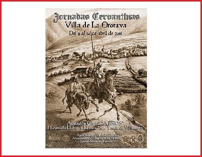 Tertulias Cervantinas - Villa de La Orotava, abril 2016