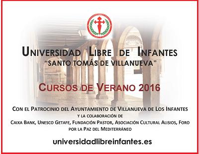 Cursos de Verano 2016 - Villanueva de los Infantes